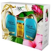 Кондиционер OGX Набор Шампунь+  + Аргановое масло для восстановления волос
