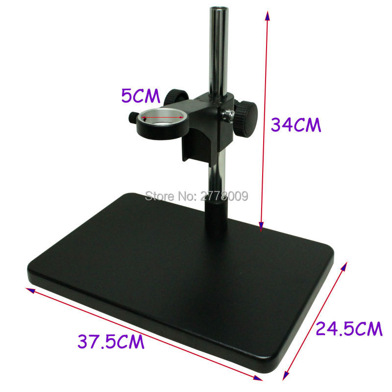 Big Size Heavy Duty Adjustable Boom Large Stereo Arm Table Stand 50mm Ring Holder For Lab Industry Microscope Camera stereo zoom microscope focus arm a1 76mm ring size holder for lab industry tinocular binocular microscope camera