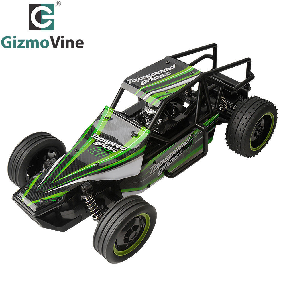 GizmoVine RC Cars Rock Off-Road Vehicle Crawler Truck 2.4Ghz 2WD High Speed 1:10 Scal Remote Control Racing Cars Electric Buggy