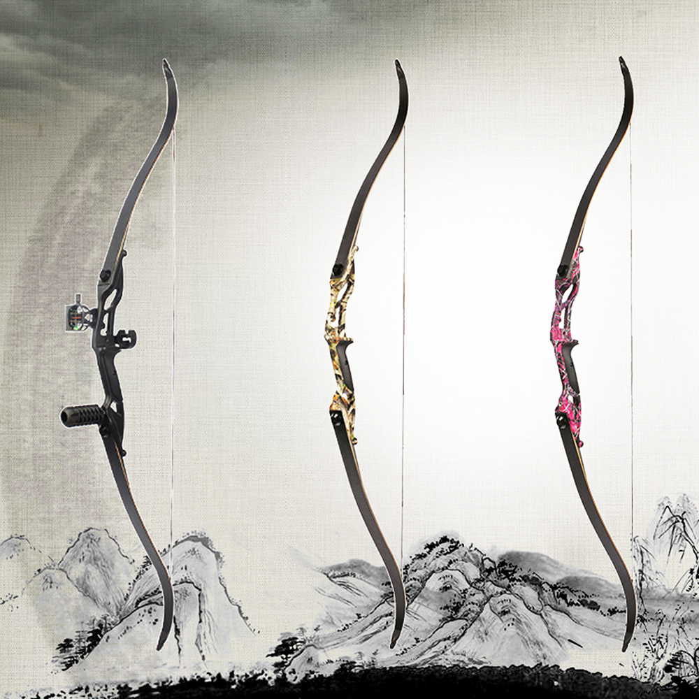Crossbow Hunting  56 Inches 30 50 Lbs Aluminum Alloy FPS170 190 Recurve Bow Arco e flecha Bow For Shooting Bow-in Bow & Arrow from Sports & Entertainment