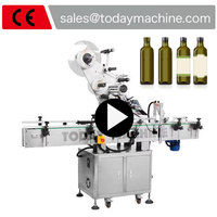 Автоматическая Приклеивание этикеток машина для масло для электронных сигарет бутылки