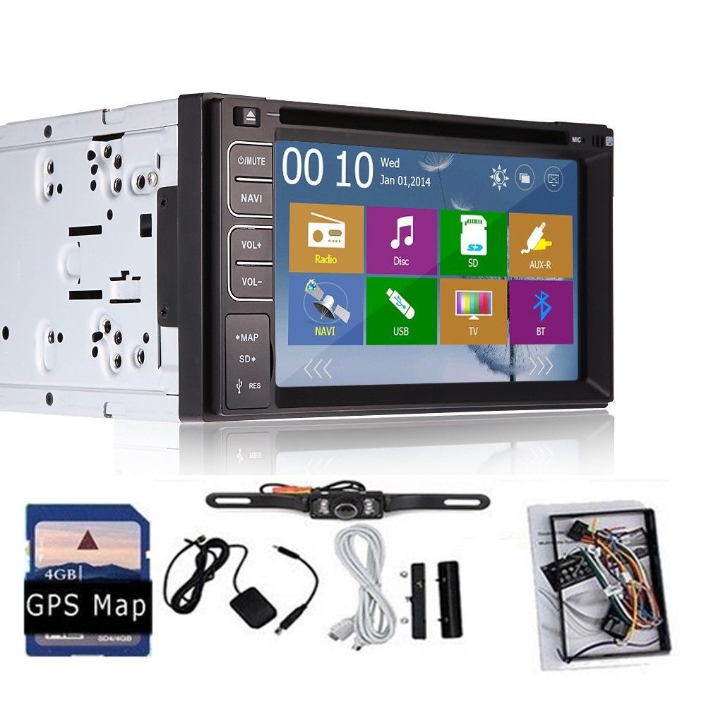 free camera included car dvd gps navigation two 2din car. Black Bedroom Furniture Sets. Home Design Ideas