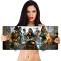 New Rubber Gaming XL Large 700*300mm Mouse Pad Mat Mice For Optical/Trackball PC