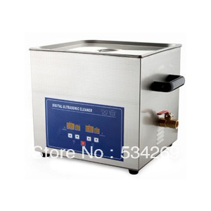 15L Stainless steel Digital Ultrasonic Cleaner with Timer and Heater (including Washing Basket) 22l stainless steel ultrasonic cleaner with timer and heater including washing basket