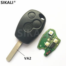 3 buttons Car Remote Key for Clio Scenic Kangoo Megane Vehicle Control Alarm with PCF7946/PCF7947 Chip for Renault(China)