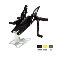 New Arrival MT 03 R3 CNC Adjustable Rear Set Rearsets Footrest For Yamaha YZF R25 R3