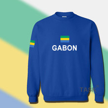 Gabonese Republic Gabon hoodie men sweatshirt sweat suit hip hop streetwear tracksuit nation footballer sporting GAB Gabonaise