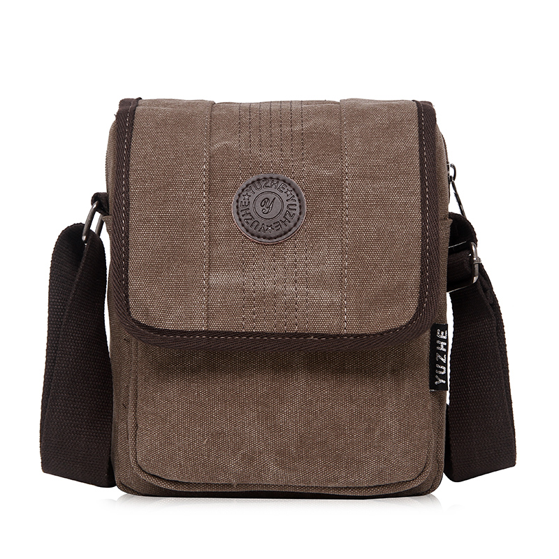 2016 Fashion Men Messenger Bag Casual Shoulder Bag High Quality Canvas Bag Men Bags aosbos fashion portable insulated canvas lunch bag thermal food picnic lunch bags for women kids men cooler lunch box bag tote