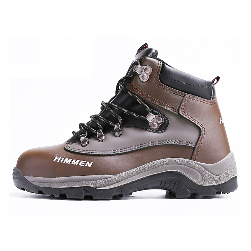 Men Motorcycle Winter Boots Steel Toe Cap Work Safety Shoes Anti-Puncture Breathable Footwear leather men steel toe cap work safety shoes anti smashing slip resistant breathable winter boots
