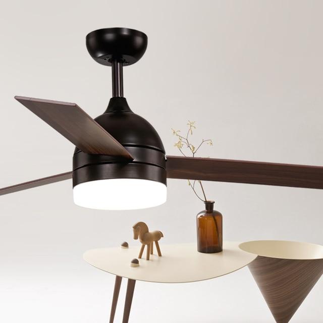 52dans vintage industrielle ventilateur de plafond en bois loft ... - Ventilateur De Plafond Pour Chambre
