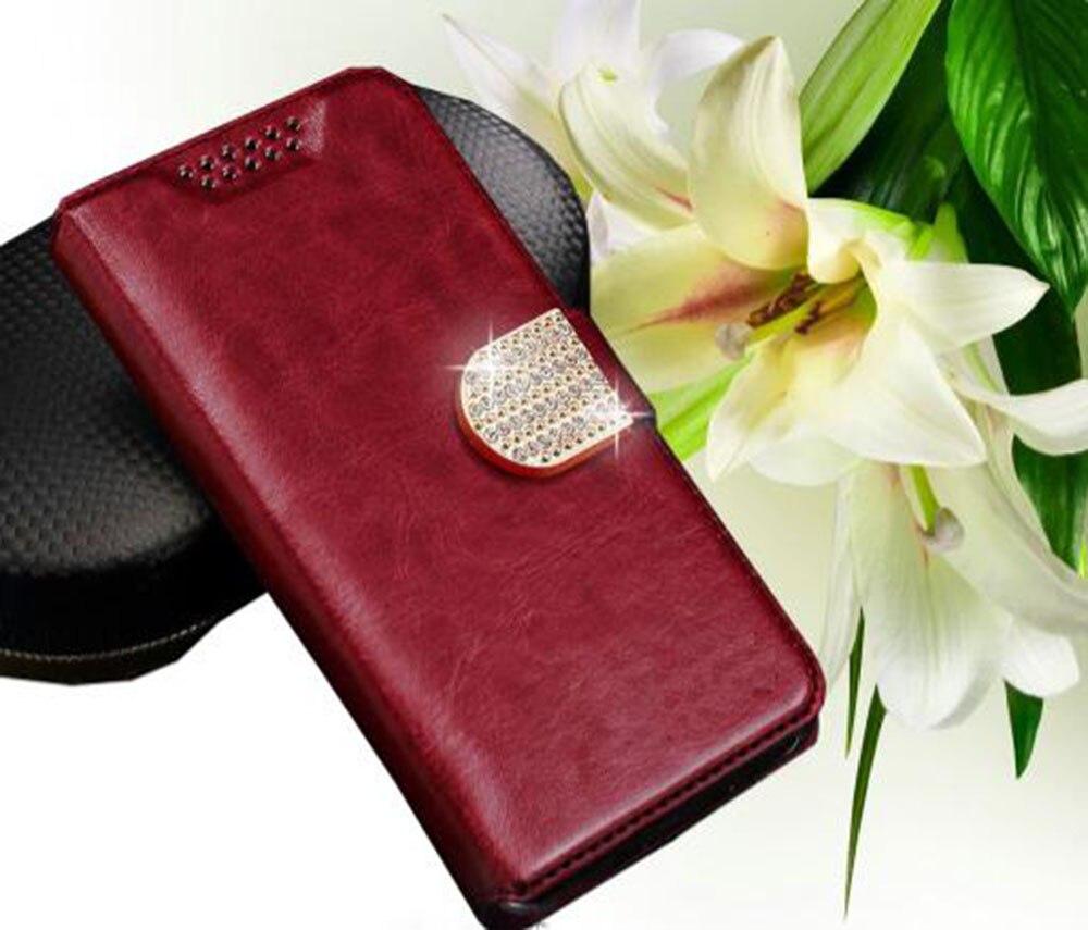 De luxe pour PPTV Roi 7 Cas Béquille Protecteur Flip Étui En Cuir avec Support de Téléphone Couverture Arrière pour PPTV Roi 7 S 7 Smartphone