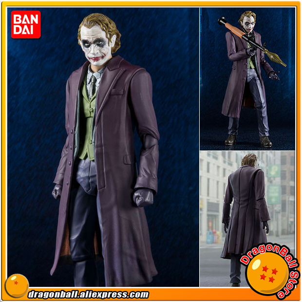 Anime The Dark Knight Original BANDAI Tamashii Nations S.H.Figuarts (SHF) Action Figure - Joker (The Dark Knight) anime captain america civil war original bandai tamashii nations shf s h figuarts action figure ant man