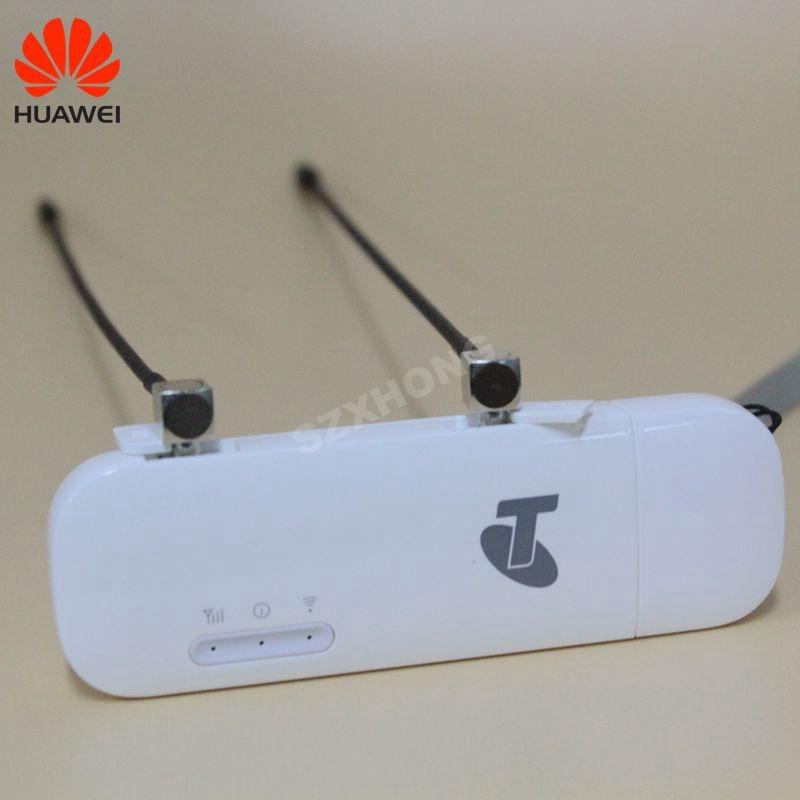 Original Huawei Entsperrt E8372 E8372h-608 150 Mbps 4g LTE Wifi modem USB dongle mit TS9 antenne