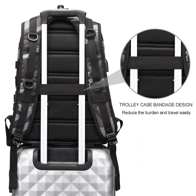 Cosplay Backpack Jedi To Survive To Eating Chicken Three-Level Package PUBG Fashion Trend Waterproof Large-Capacity Package 2