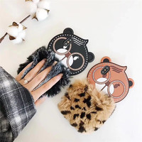 New Fashion 3D Leopard Print OWL BEAR Mobile Phone Cases For IPhone6 6S 6Plus Soft Silicone