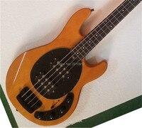 Высочайшее качество на заказ StingRay 4 струны бас MC ebony гриф Электрический бас гитары
