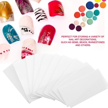 10pcs Makeup Accessories Professional Plastic Partition Baff