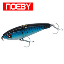 Pencil Baits NOEBY 4pcs/Lot 140mm/66g Hard Plastic Stickbait Sea Bass Fishing Lures china leurre peche souple Free Shipping