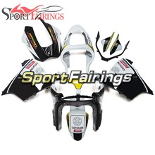 Sportbikefairings ABS Plastic Injection Full Fairing Kit For Kawasaki ZX6R 2003 2004 Ninja ZX-6R 03 04 Motorcycle Bodywork Cowlings TECCARE Gloss Green Black White Carenes