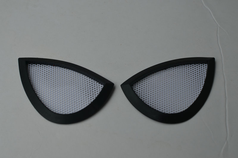 (004) Halloween Amazing SpiderMan Costume lenses Eyes mask Frames lens Cosplay/1 pairs