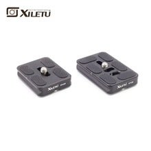 XILETU X-PU 50 60 70 Series General Plate Tripod Quick Release Mount Arca Standard Width 38mm Screw 1/4inch For manfrotto