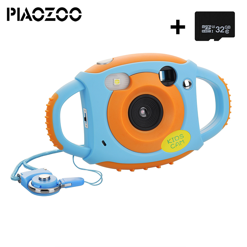 child educational Toy Camera for Boy Girl cam Creative Lightweight Digital Camera for Kid with Soft Silicone Protective ShellP30