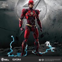 BK DC Justice League Dah 006 dynamic Action the flash Moveable Action Figure Figma