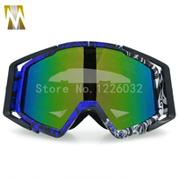 New Moto Goggles Motocross Glasses DustProof Eyewear Anti Wind Bike Goggles MX Helmet Goggles ATV Off