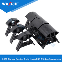 K800 Corner Section Delta Kossel 3D Printer Accessories Injection Angle Part 2020 Profiles Suitable European Standard Profiles