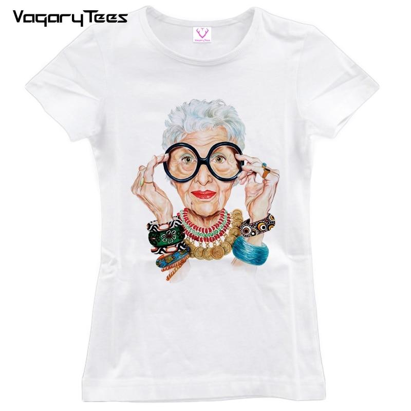 2019 Casual Tumblr Alte Frauen Print T Shirt Frauen Oansatz Kurzarm Koreanische Tops Für Frauen Kawaii T-shirt Kunden Zuerst