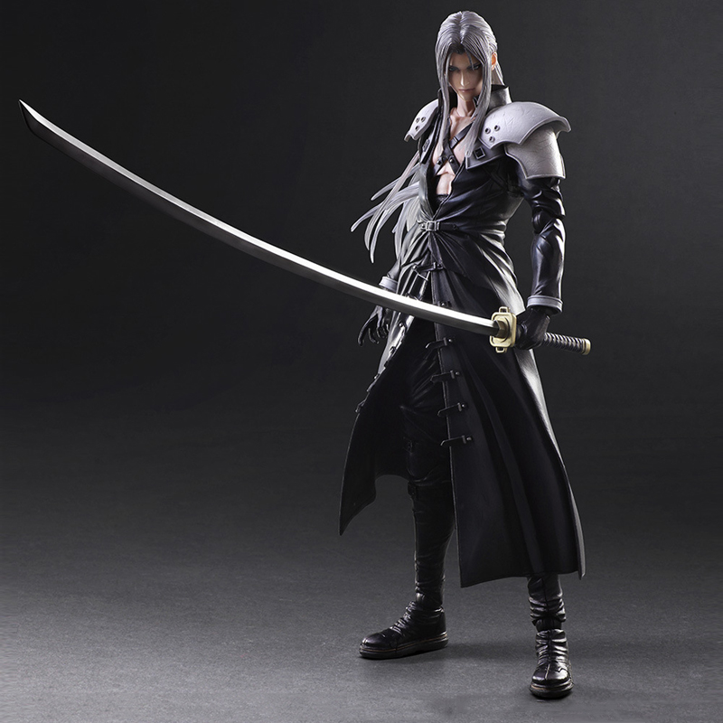 28cm Final Fantasy VII 7 Action Figure Paly Arts Kai Final Fantasy VII 7  Sephiroth PVC Action Figure Collectible Model Toy In Action U0026 Toy Figures  From Toys ...