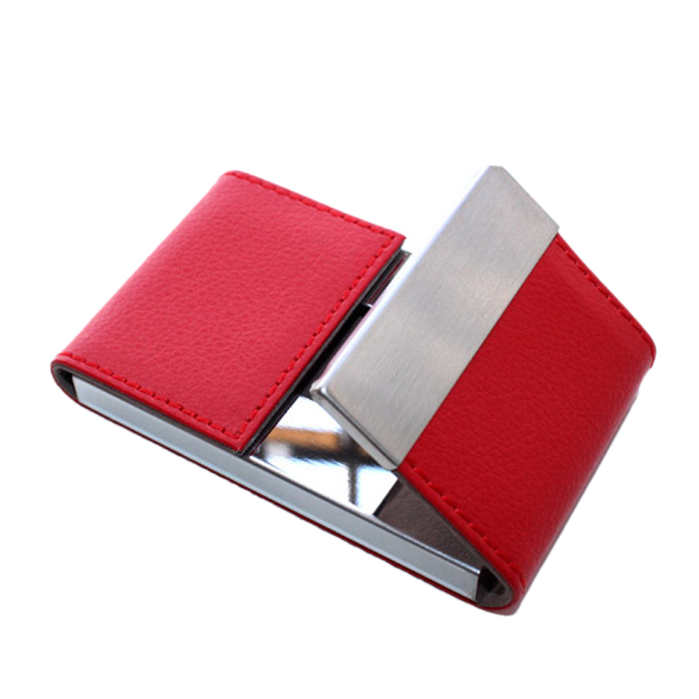 Alloo space new high capacity double open men fashion business card alloo space new high capacity double open men fashion business card holder female women credit card holder case cover slim pouch in card id holders from colourmoves Images