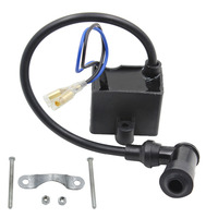 Shipping Free 50cc 60cc 66cc 80cc CDI Ignition Coil 2 Stroke Bike Bicycle Motorcycle Motorized Engine Black New Car Styling