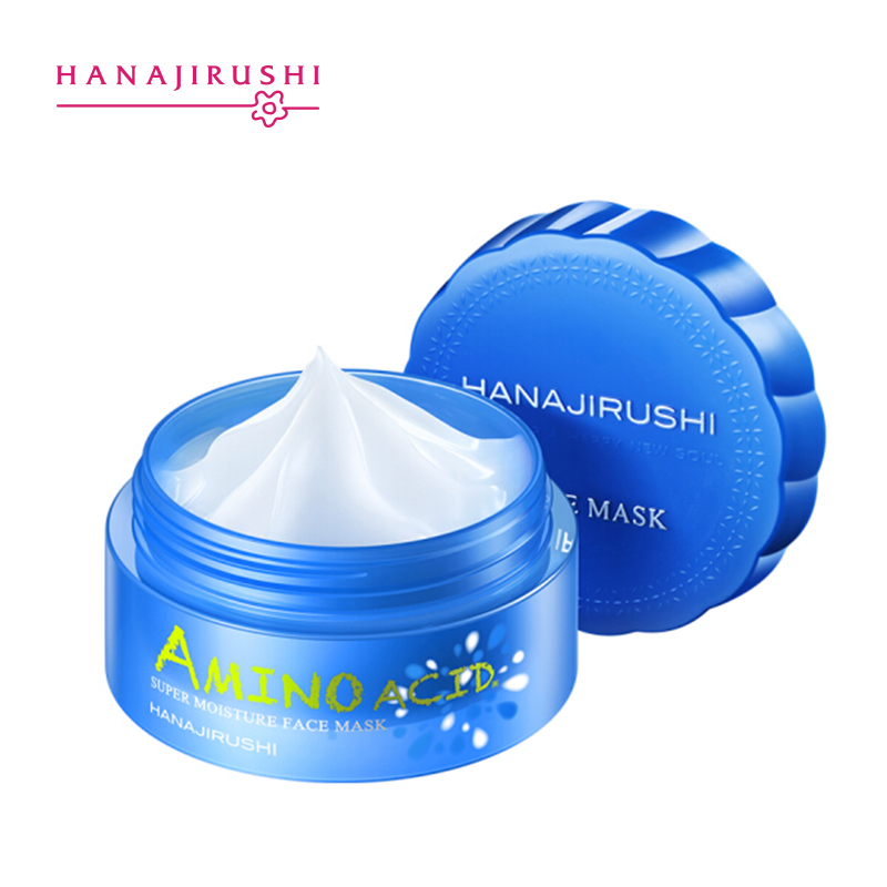 HANAJIRUSHI Amino Acid Super Moisture Washing Free Sleeping  Mask Overnight Mask Moisturizing Face Mask