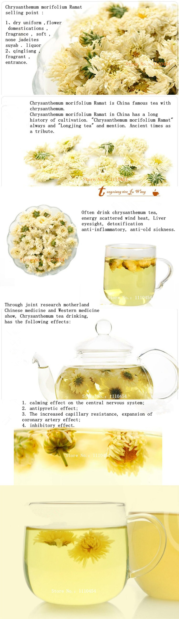 Top-Grade High Quality Original Chinese Chrysanthemum Tea Chrysanthemum morifolium Ramat tinned Flower\Scented Tea