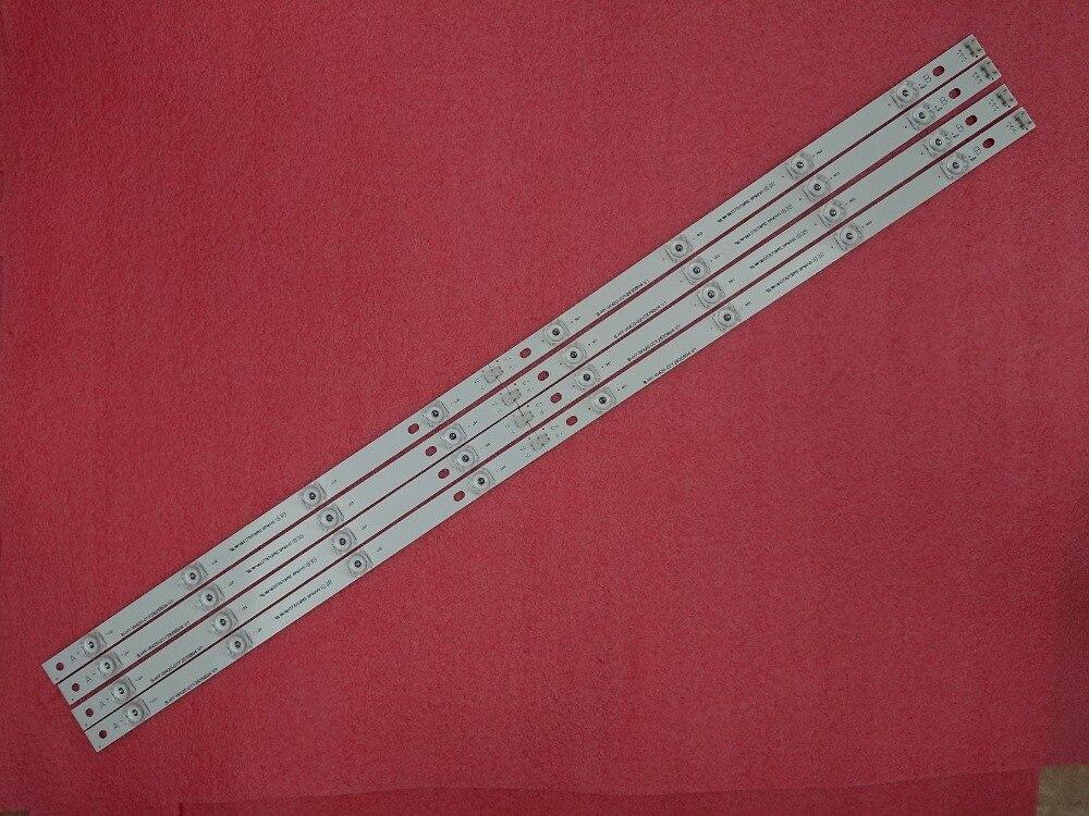 Novo kit 8 pces led strip substituição
