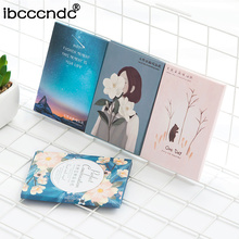 Blotting Tissue-Papers Oil-Absorbing Facial-Cleaning-Tool Random-Color Portable 50sheets/Pack