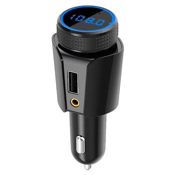 Автомобильный MP3-плеер CDEN, Bluetooth-ресивер, карта TF, AUX, зарядное устройство для автомобиля, FM-передатчик, монитор напряжения