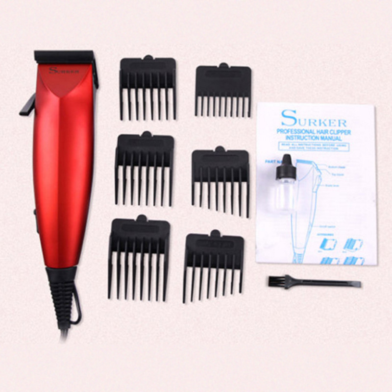 4 in1 profession Electric Hair Clipper 6pcs limit comb Trimmer Adjustable Child&Adult Wired Haircut Machine Cutting Shaving4 in1 profession Electric Hair Clipper 6pcs limit comb Trimmer Adjustable Child&Adult Wired Haircut Machine Cutting Shaving