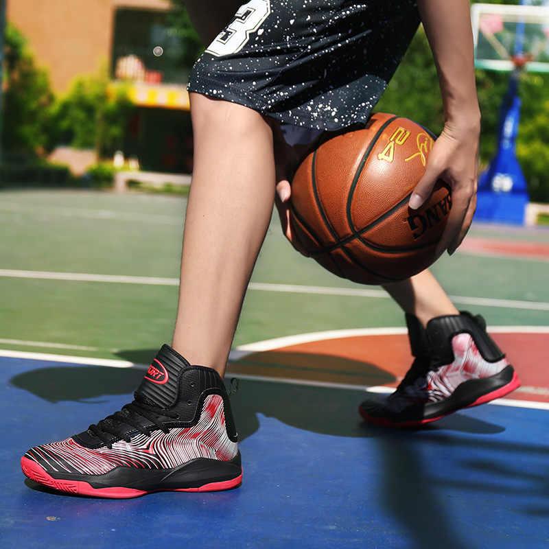 Мужские баскетбольные кроссовки, спортивная ультра-наружная Подушка, противоскользящие дышащие ботинки, спортивные кроссовки, все звезды, Max Jame LBJ