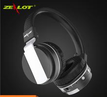 цена на ZEALOT B17 Bluetooth Noise Cancelling Headphone Super Bass Wireless Stereo Headset With Mic Earphone, FM Radio,TF Card Slot
