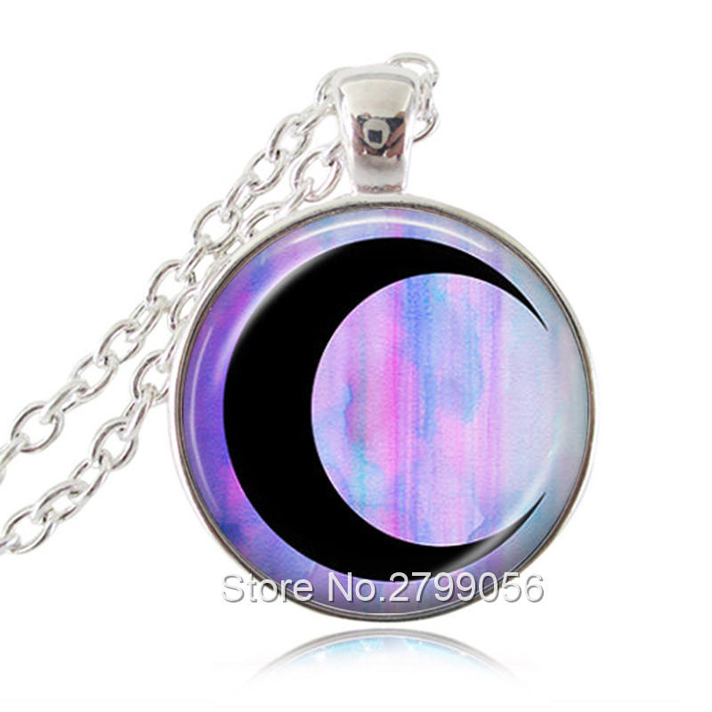 rainbow pin triple moonstone moon raw pendant goddess necklace