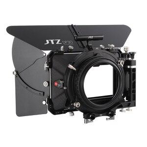 """Image 1 - JTZ DP30 Cine углеродное волокно 4x5,65 """"матовый ящик 15 мм/19 мм для Sony ARRI RED CANON A7 A7R A7RS A7RSIII GH4 GH5 GH6 A6500 FS7"""