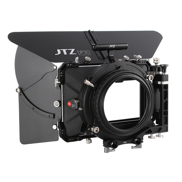 """JTZ DP30 Cine углеродное волокно 4x5,65 """"матовый ящик 15 мм/19 мм для Sony ARRI RED CANON A7 A7R A7RS A7RSIII GH4 GH5 GH6 A6500 FS7"""