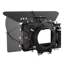"""JTZ DP30 Cine Carbon Fiber 4x5.65"""" Matte Box 15mm/19mm For Sony ARRI RED CANON A7 A7R A7RS A7RSIII GH4 GH5 GH6 A6500 FS7"""