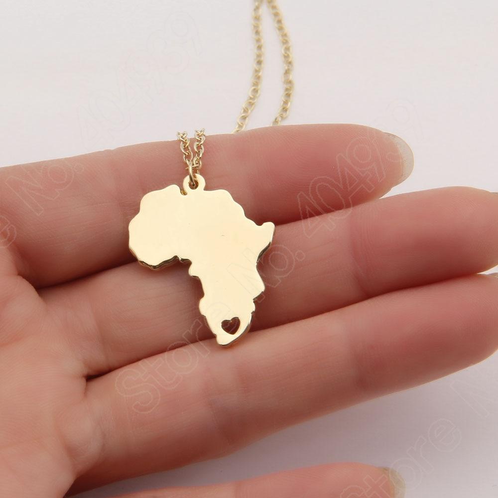 10 unids África Collar Wanderlust Embutidora de La Media Elder Misionero Mapa Co