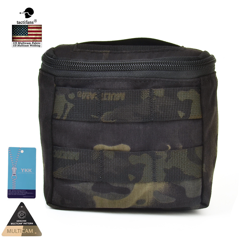 Tactifans Molle Modular Concealed Glove Pouch Genuine 500D Multicam EDC MOLLE Battle Field Medic EMT Pouch 10 Colors Available in Pouches from Sports Entertainment