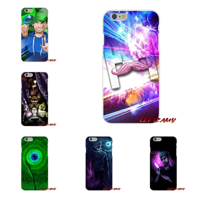 reputable site f2704 d4005 Jacksepticeye Markiplier Accessories Phone Shell Covers For Samsung Galaxy  A3 A5 A7 J1 J2 J3 J5 J7 2015 2016 2017