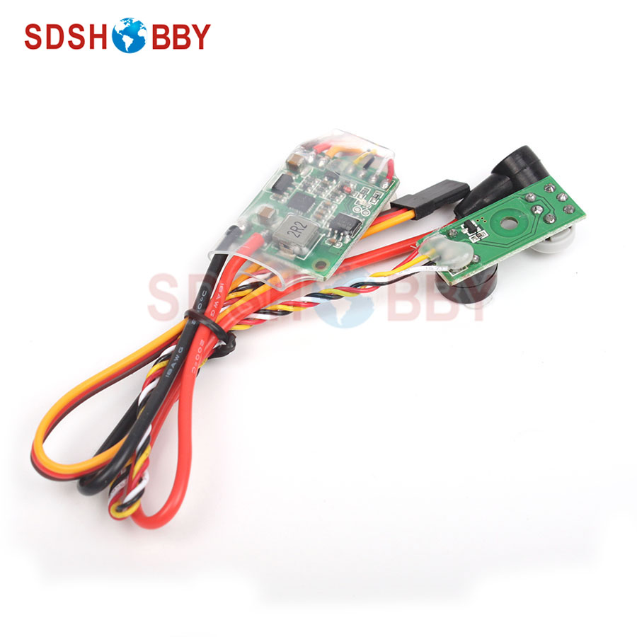 RCD3007 Universal Remote Controlled Nitro Engine Glow Plug Driver CDI Ignition 4.5~16V for RC Airplane Helicopter