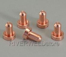 9 8205 Плазменные сопла 20 А, наконечники для резки фрикциона подходят для тепловой динамики SL60/SL100, плазменный резак, расходные материалы, 5 шт.